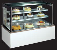 marble based bakery cooler,cake display cabinet,cake refrigerator (0.9-2.1m)