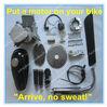Mopeds Gas Powered Engine Kit, Bicycle Engine Kit 70cc