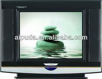 14 inch CRT TV/Toshiba/Sanyo/Philips/DC 12V/pure flat/Hot sale/ultra-slim