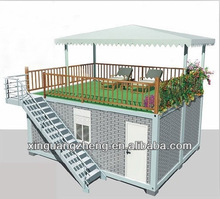20 ft prefabricated container house for sea