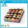 eco-friendly clear plastic food box
