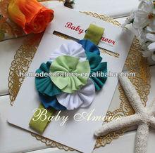 Baby Flower solid cotton Headbands