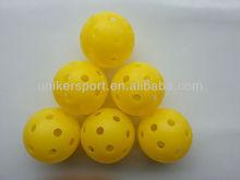 pickleball,good wiffleball,indoor use, uniker brand, model: Ace, 72mm