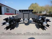 28T Suspension Spoke Wheel Bogie Axle