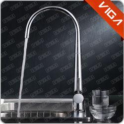 High Standard Polished Brass Kitchen Faucet