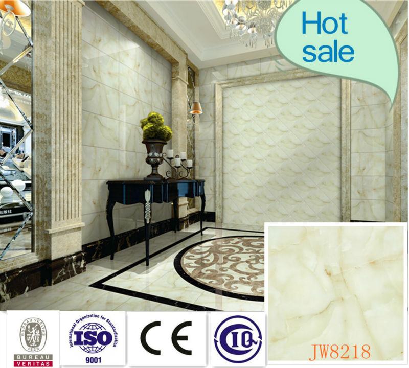 Luce colore microcrystal pietra di marmo lucido pavimento in gres porcellanato piastrelle per interni 800x800( jw8218)