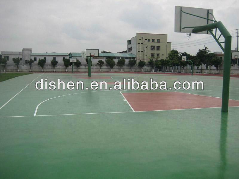 Full PU Basketball Flooring