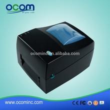 OCBS-002 Barcode Label Printer With Ribbon Direct Printing Or Themal Transfer Printing USB