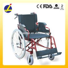 Handicapped Equipment Foldable Aluminum Manual Wheelchair JL9010LJ