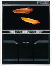unique glass fish transport tank