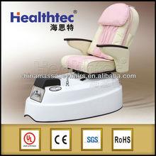 pipeless basin burgundy pedicure chair recline