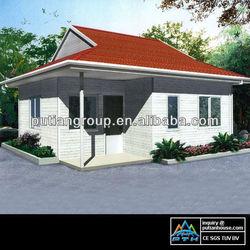 Two bedrooms 77.8sqm light gauge steel structural prefab villa
