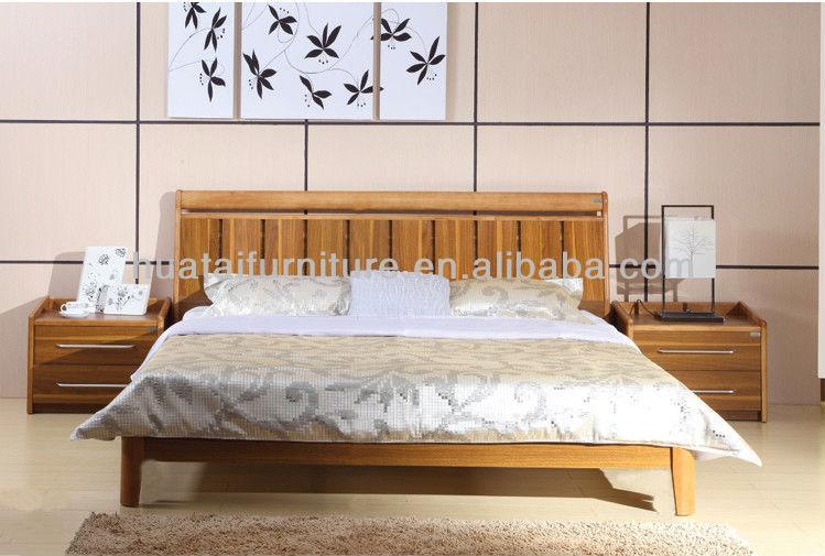 Lit Double Bois Pas Cher : Pas cher en bois lit pour h?tel bois massif lit Double en chambre