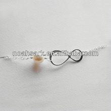 2014 Original Design Leading Fashion YUAN Noahs Ark Pearl wholesale infinity bracelet China Best Manufacturer