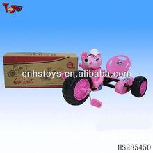 De plástico y metal de los animales coche de pedales coche de carreras