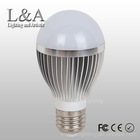 CE ROHS Approved led lighting bulb, e27 led bulb 5w