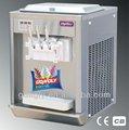 Bql-808 mesa balcão 2+1 sabor máquina macia do gelado