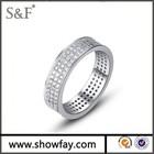 Wedding Gemstone Ring , White Gold Ring , 1 Carat Diamond Ring