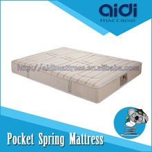High Quality Two Side Pocket Spring Medicated Mattress Fabrics