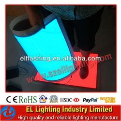 low price el backlight sheet,EL Backlight sheet,el display,We can walk on the Sheet,So Cool