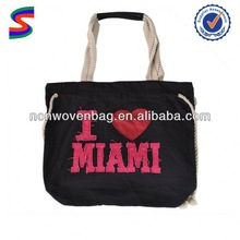 2011 Fashion Organic Cotton Bag Foldable Cotton Shopping Bag