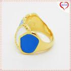 new design gold finger ring