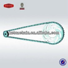 super quality motorcycle roller chain and motorcycle sprocket manufacture