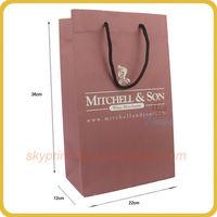 Wine Merchants custom packaging paper bag manufacturer