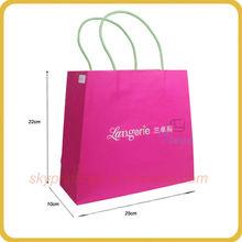 fashional design handbag shape paper gift bag for party gift