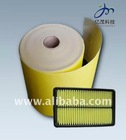 Non-woven Air filter Media(Yellow)
