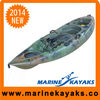 Single Sit On Kayak Fishing Plastic Boat Kayak
