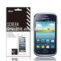 Protetor de tela do telefone móvel para samsung galaxy jovens s6310 oem/odm