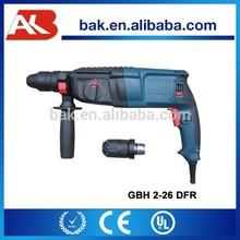 Rotary marteau perforateur électrique outil Bosch GBH 2-26DFR 26 mm