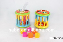 Cylinder Baby Block Toys, Funny Educational Baby Toys