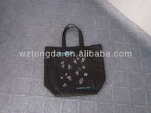wholesale cotton fabric drawstring bag(WZ0094)