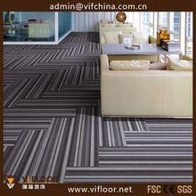 Bitumen Backing Mosaic Carpet Tile