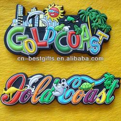 Popular Soft PVC Fridge Magnets With Animal Prints