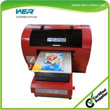 promotion items printing machine a3 uv flatbed pvc id card printer
