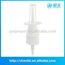 Di plastica sottile nebbia spruzzatore nasale pompa 20/410