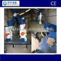 Madeira da pelota da máquina da imprensa para resíduosagrícolas: efb, cascas de árvores de eucalipto, acacia mangium de madeira