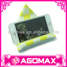 For iPhone iPad mini Samsung microfiber display stand for mobile accessories