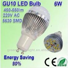 led lamp 450lm--500Lm GU10/E27 led lighting bulb for house,low price led bulb light