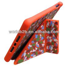 Leopard Print Smart magnet Stand Handle Silicone Case Cover For iPad Mini / iPad mini with Retina display