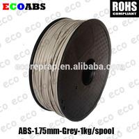 grey color ABS 3d printer filament