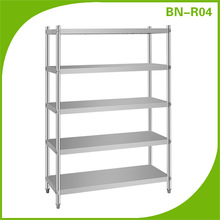 Metal Cabinet Shelf Brackets/Vegetable Shelf/Stainless Steel Commercial Kitchen Shelf (BN-R04)