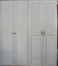 Modern Formaldehyde free Bureau Closet Louver Bedroom Wall Wardrobe Design