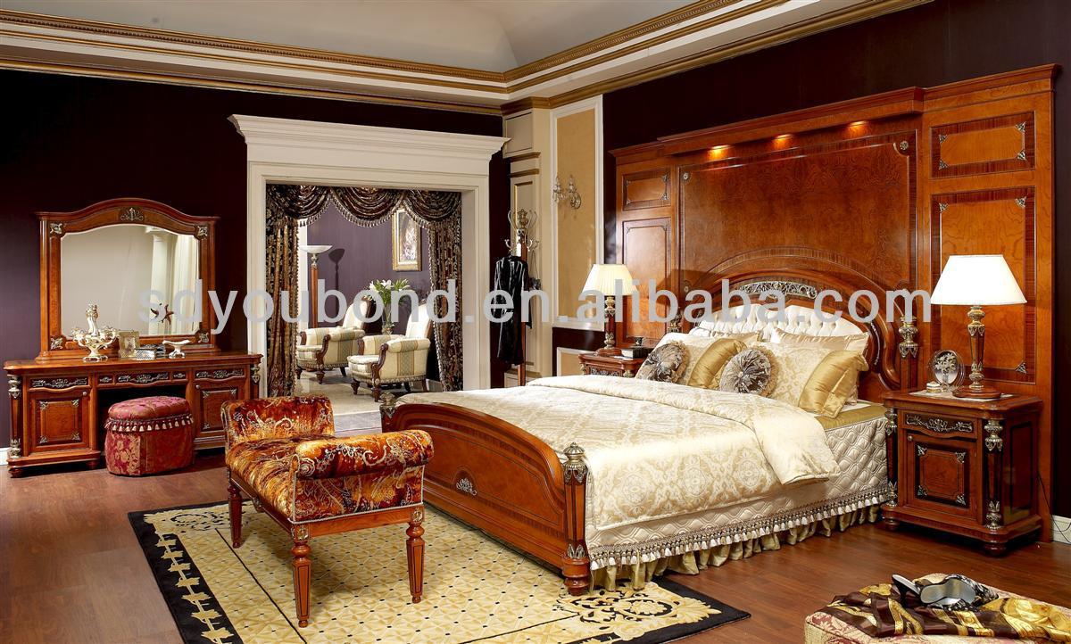 solid wood bedroom set high quality italian furniture