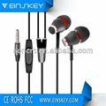 Manos libres e-e019 in-ear diseño color cable de los auriculares