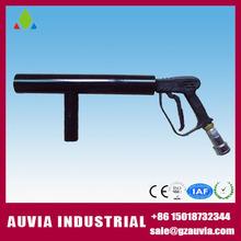 Hi- qualità perfetto effetto maniglia co2 dj pistola, 2 metro flessibile, ha condotto la luce stadio getto co2 macchina