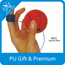 Bouncy Cheap Pu Foam Yoyo Basketball With Custom Logo